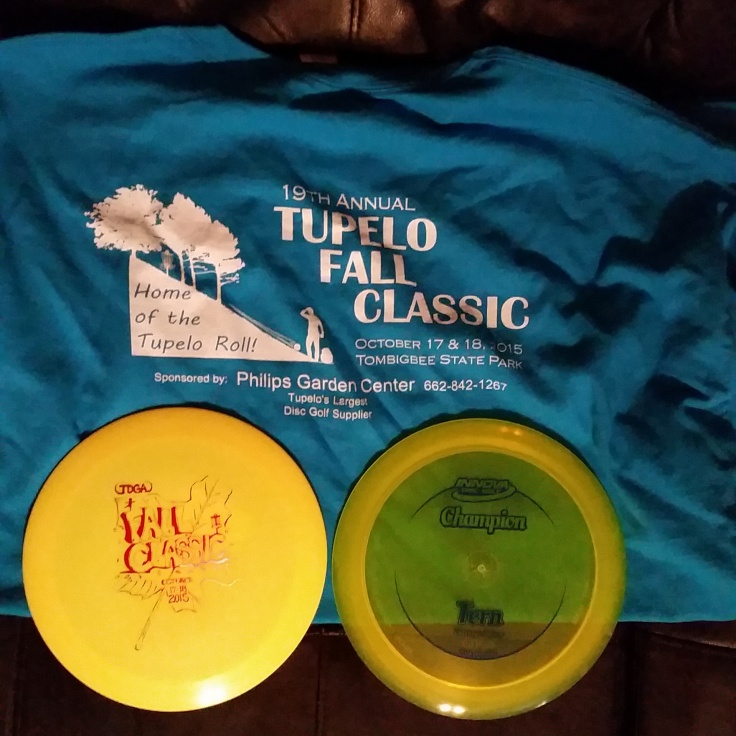 Am player pack T-shirt & disc + prize disc (Champ Tern)