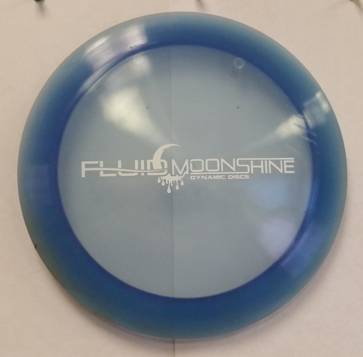 172g Dynamic Discs Fluid Moonshine Freedom