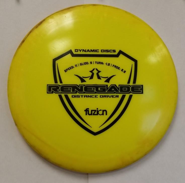 174g Dynamic Discs Fuzion Renegade